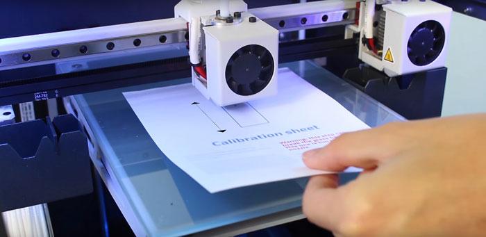 Sheet calibration