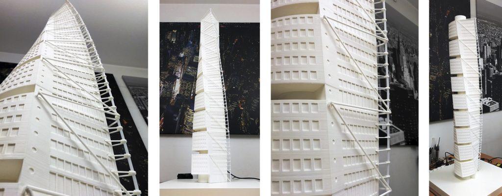 Homenaje a Calatrava 3D