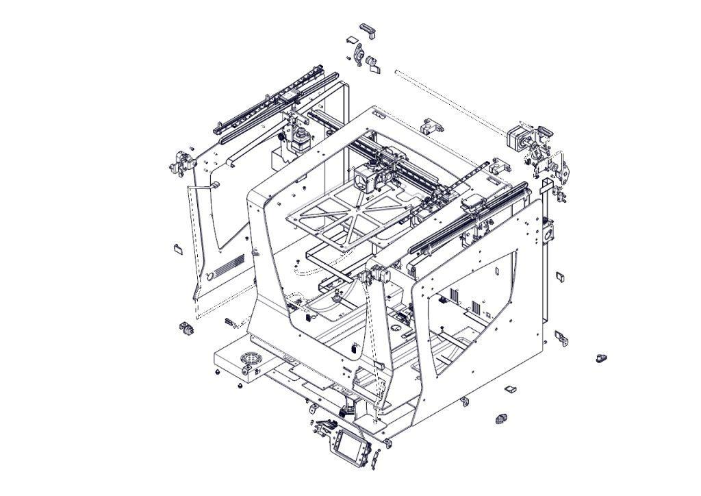 Extrusion map 3d printer