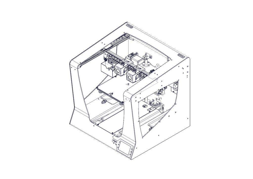 3d printer map