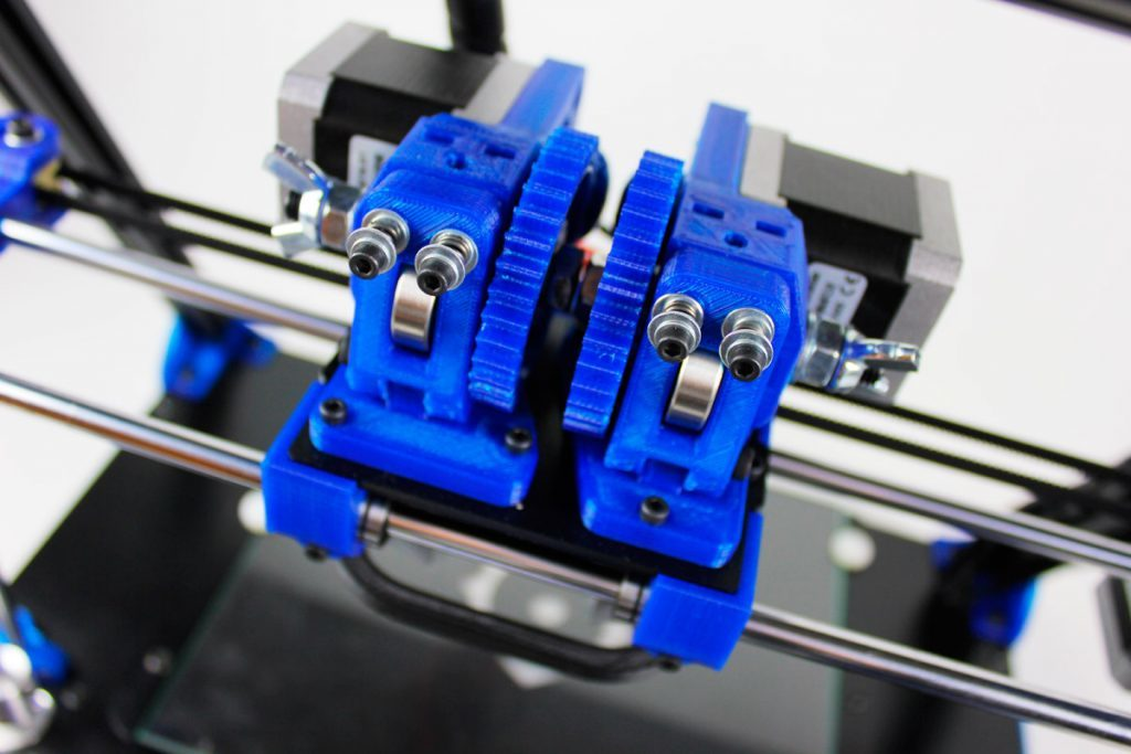 Dual extruder upgrade for BCN3D+