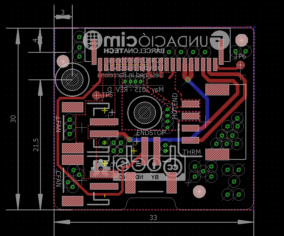 Extruder Motherboard