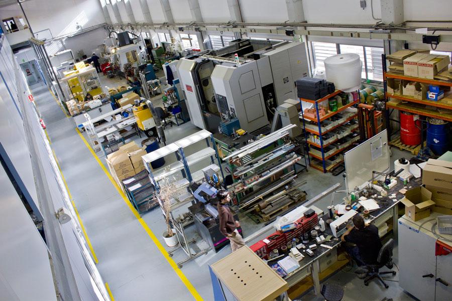 Fundació CIM warehouse