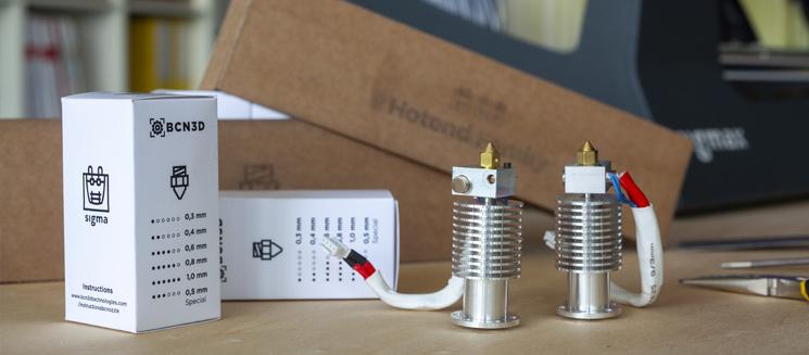 BCN3D Technologies-How to choose a FFF 3D printer-Hotends