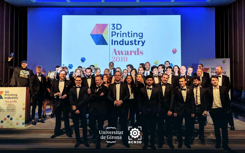 BCN3D Technologies-UdG-3DPI Awards 2019-Ceremony