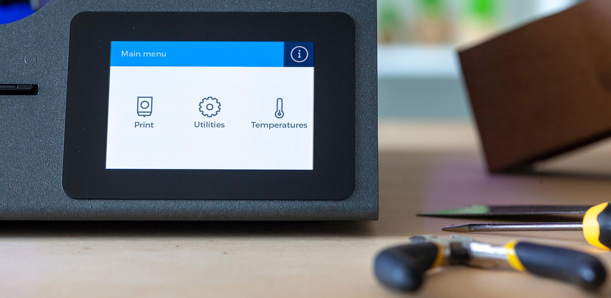 BCN3D_Technologies_Sigma_Sigmax_R19_touchscreen GUI UX