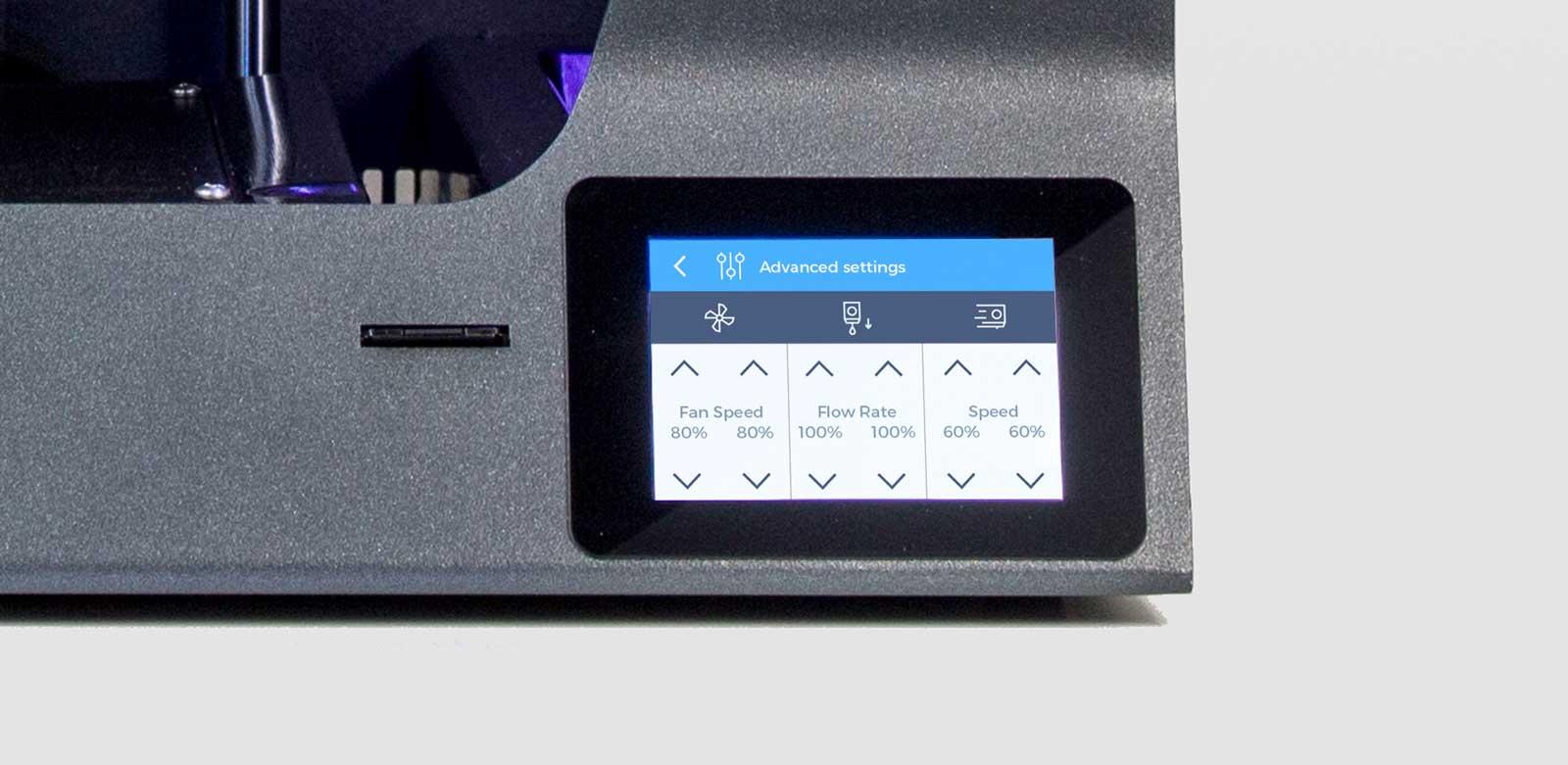 BCN3D_Technologies_new_UX_GUI_touchscreen_Sigma_Sigmax_R19_advanced_settings