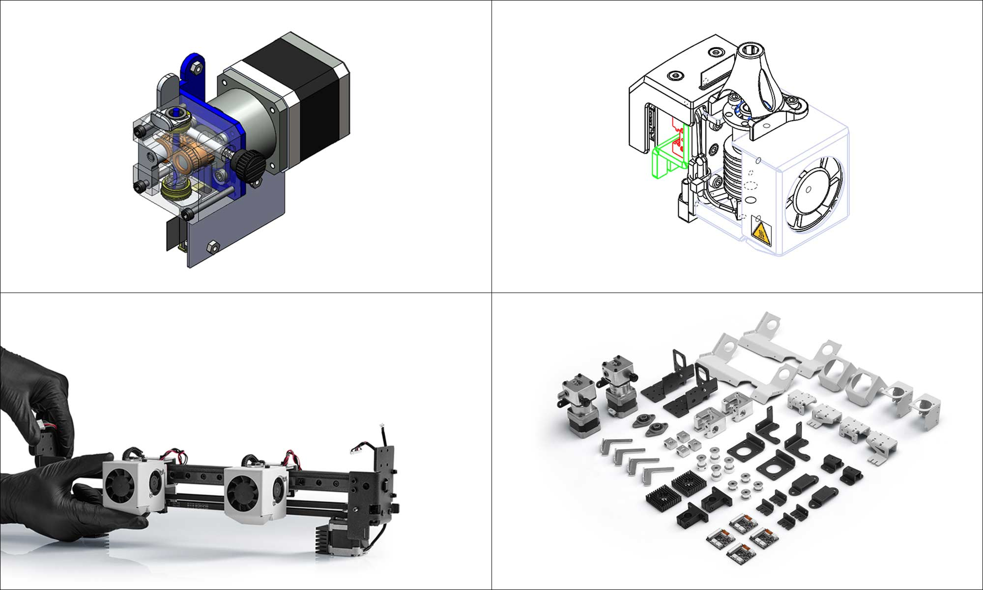 Open source 3d printer Sigma R19 CAD