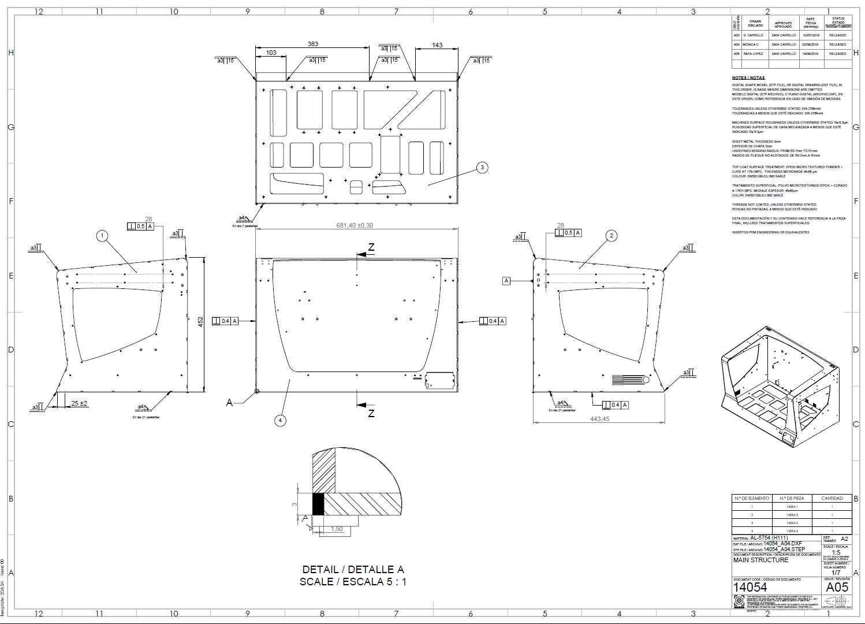 Open source 3d printer blueprint R19 bcn3d