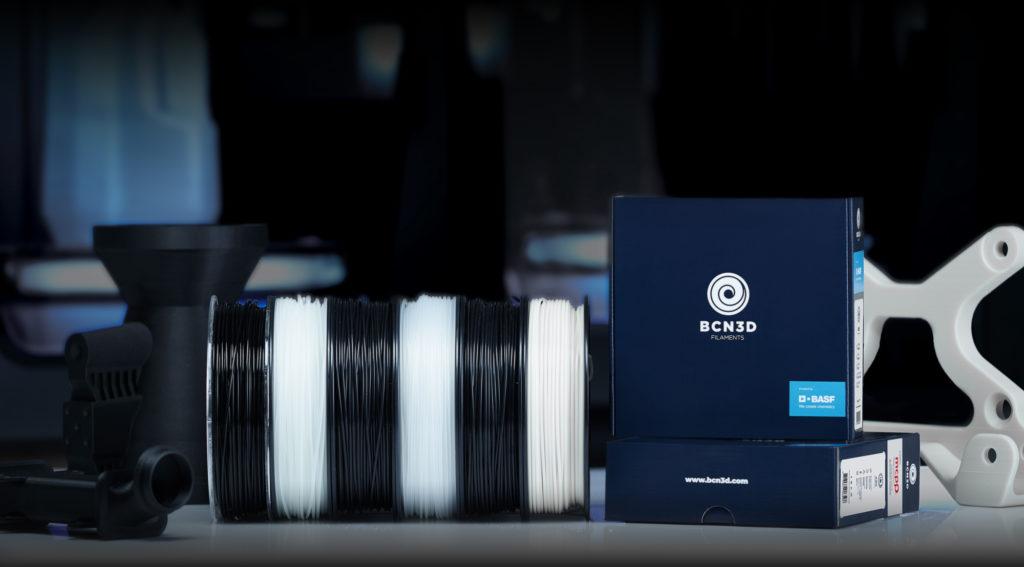 BCN3D Filaments 3D BASF Mitsubishi