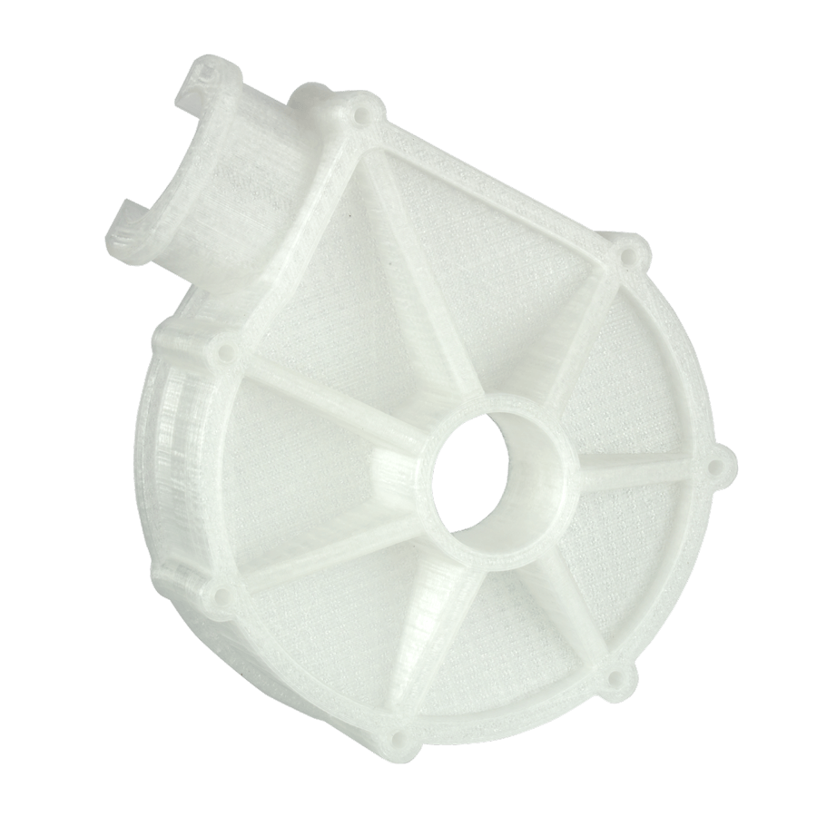 Printed object - PP Pump housing (1)