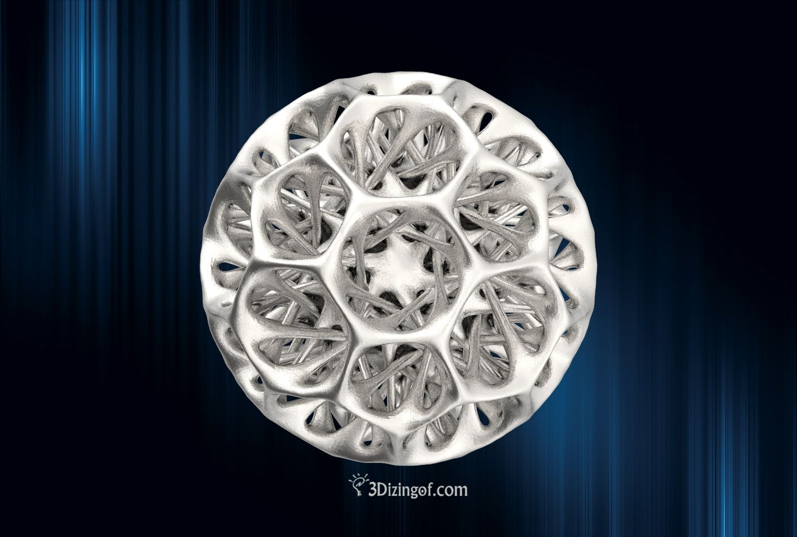 Truncated Icosahedron by Dizingof