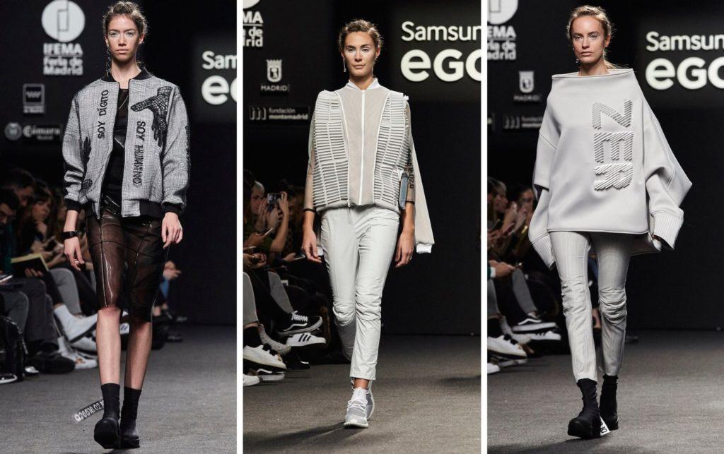 BCN3D ZER 3D printing fashion samsung ego pasarela moda