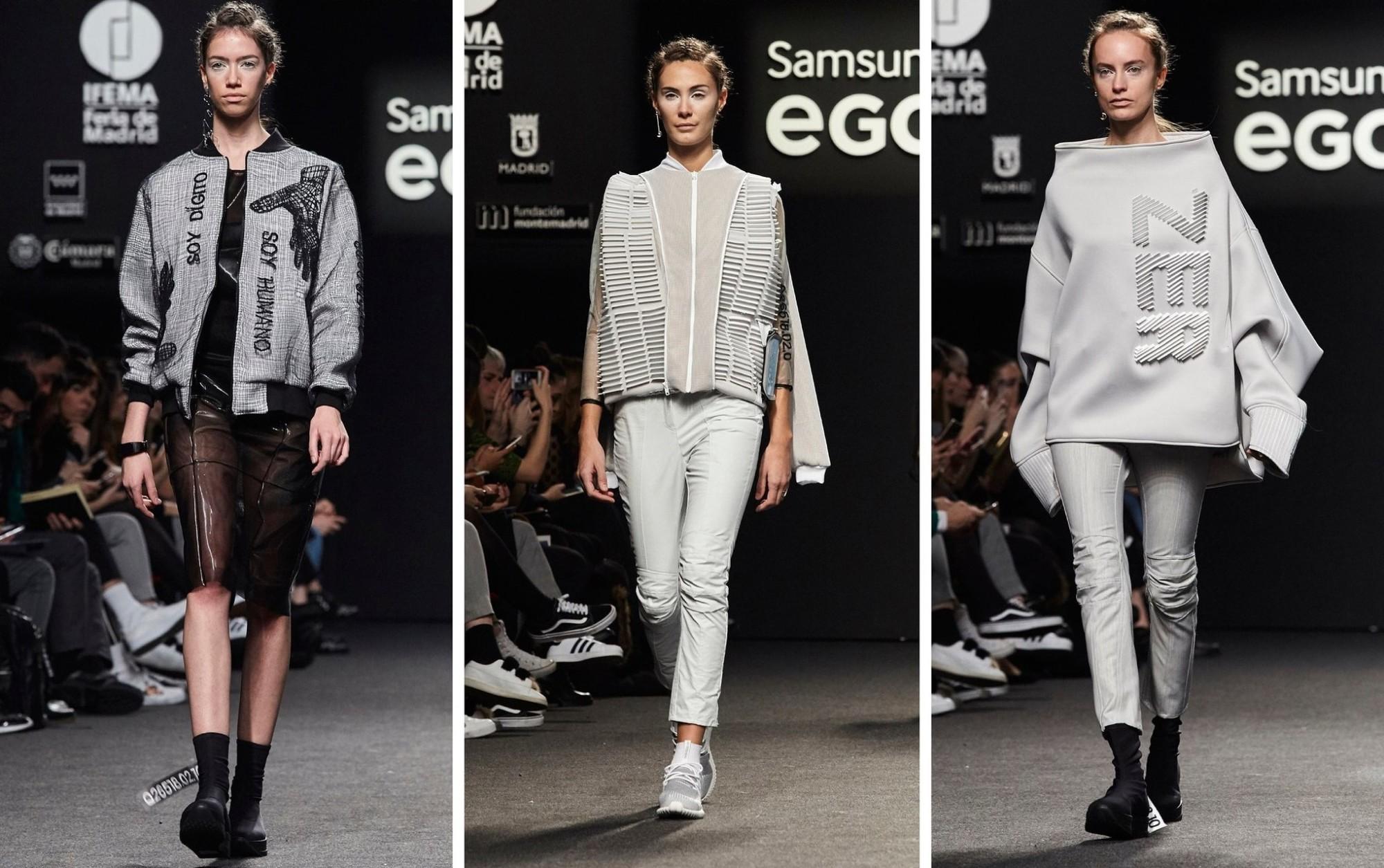 BCN3D ZER 3D printing fashion samsung ego catwalk
