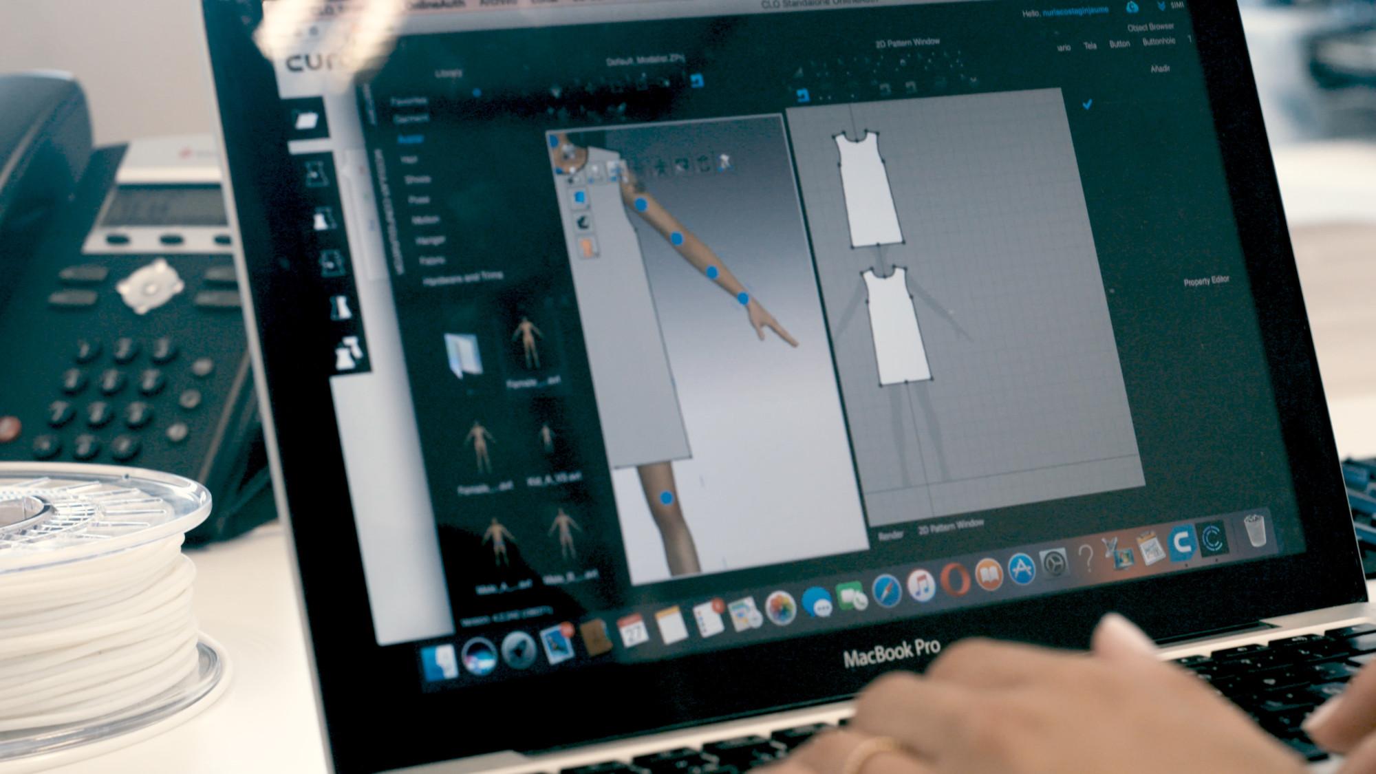 ZER BCN3D 3D Printing Fashion Digital software