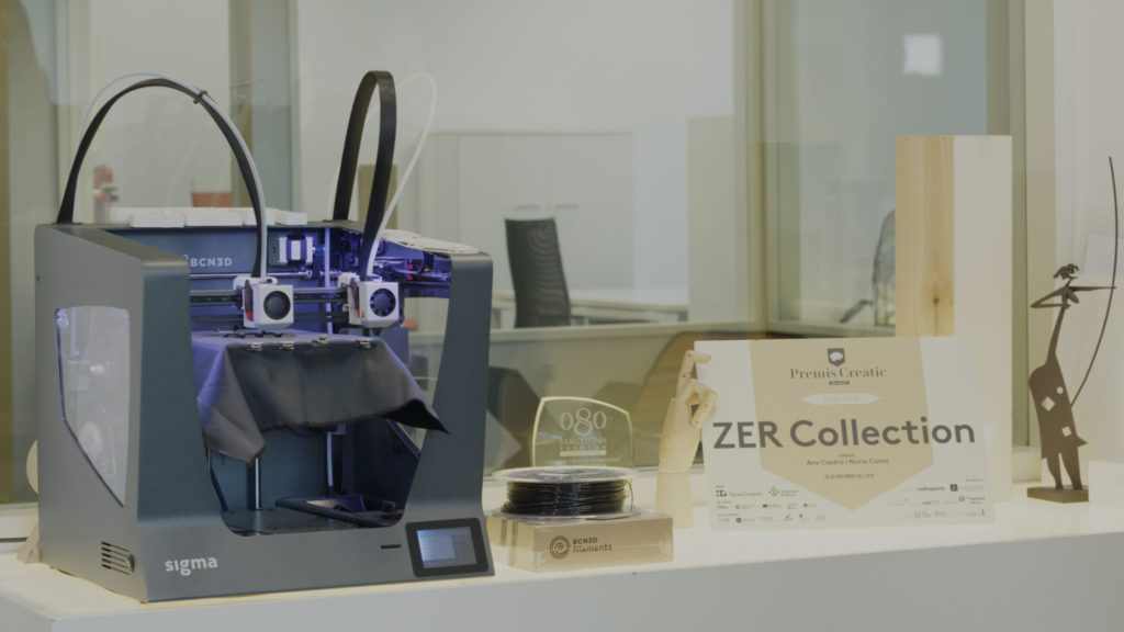 ZER BCN3D 3D Printing Fashion sigma general