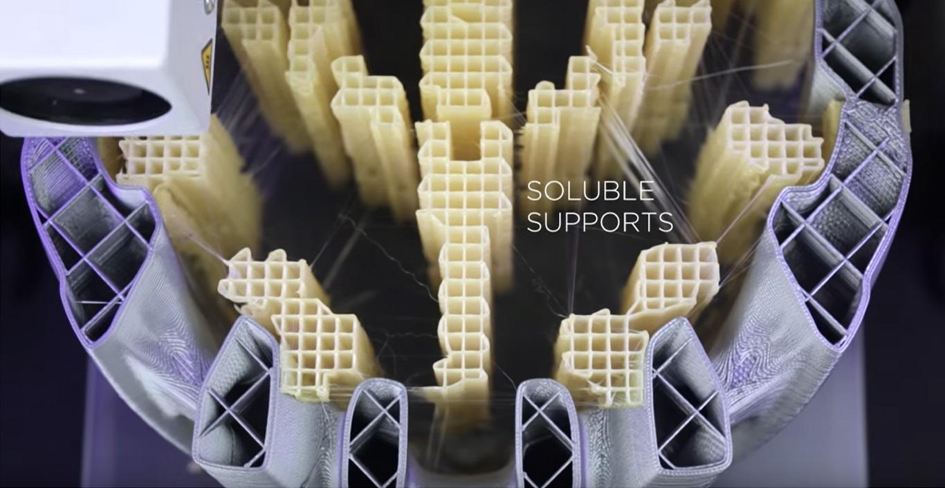 BCN3D 3D printing impresion print supports PVA