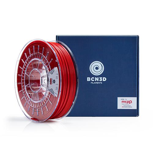 BCN3D Filaments Red PLA