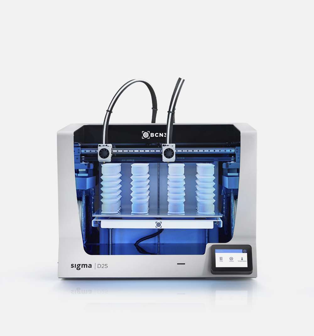 The BCN3D Sigma D25 is a new generation of our acclaimed 3D printer