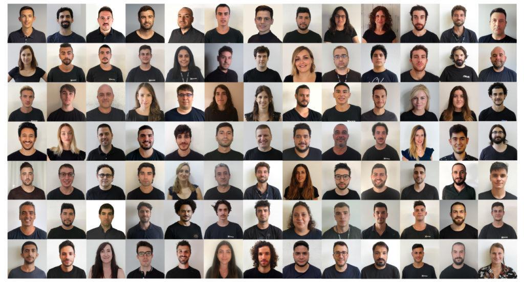 The BCN3D team in 2020