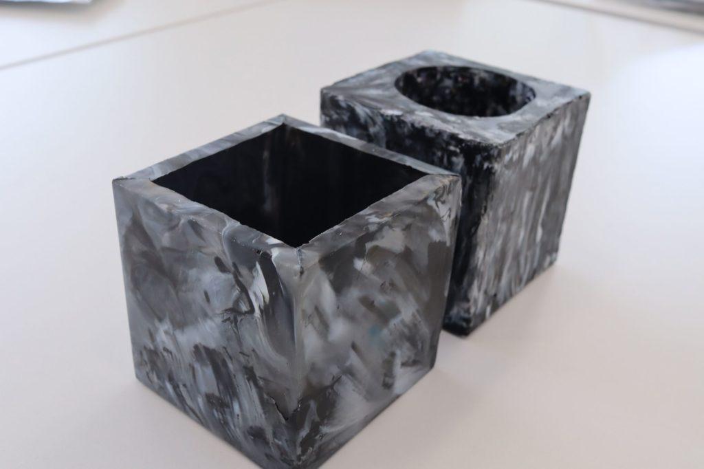 Hand-made metal molds