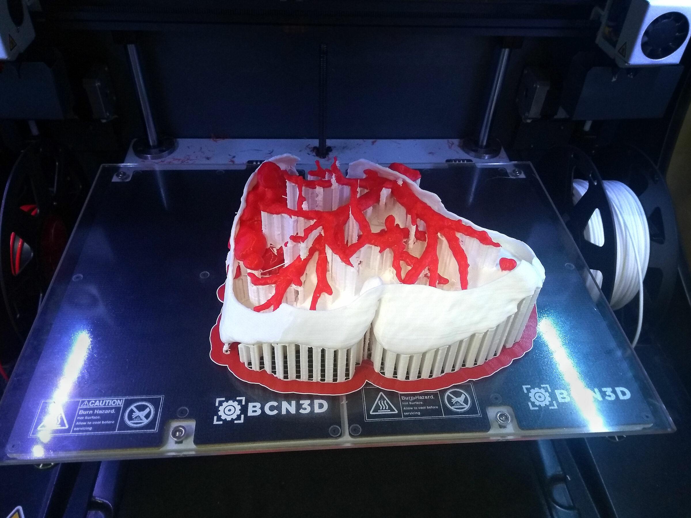 Biomodel printing