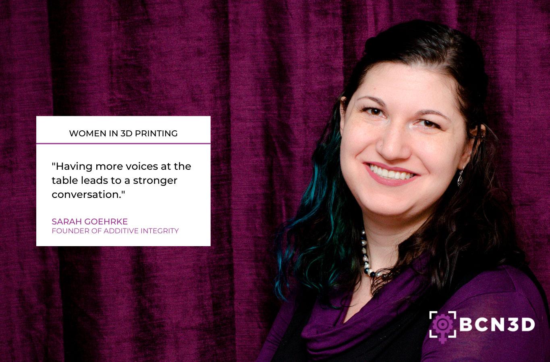 Sarah Goehrke on inclusivity