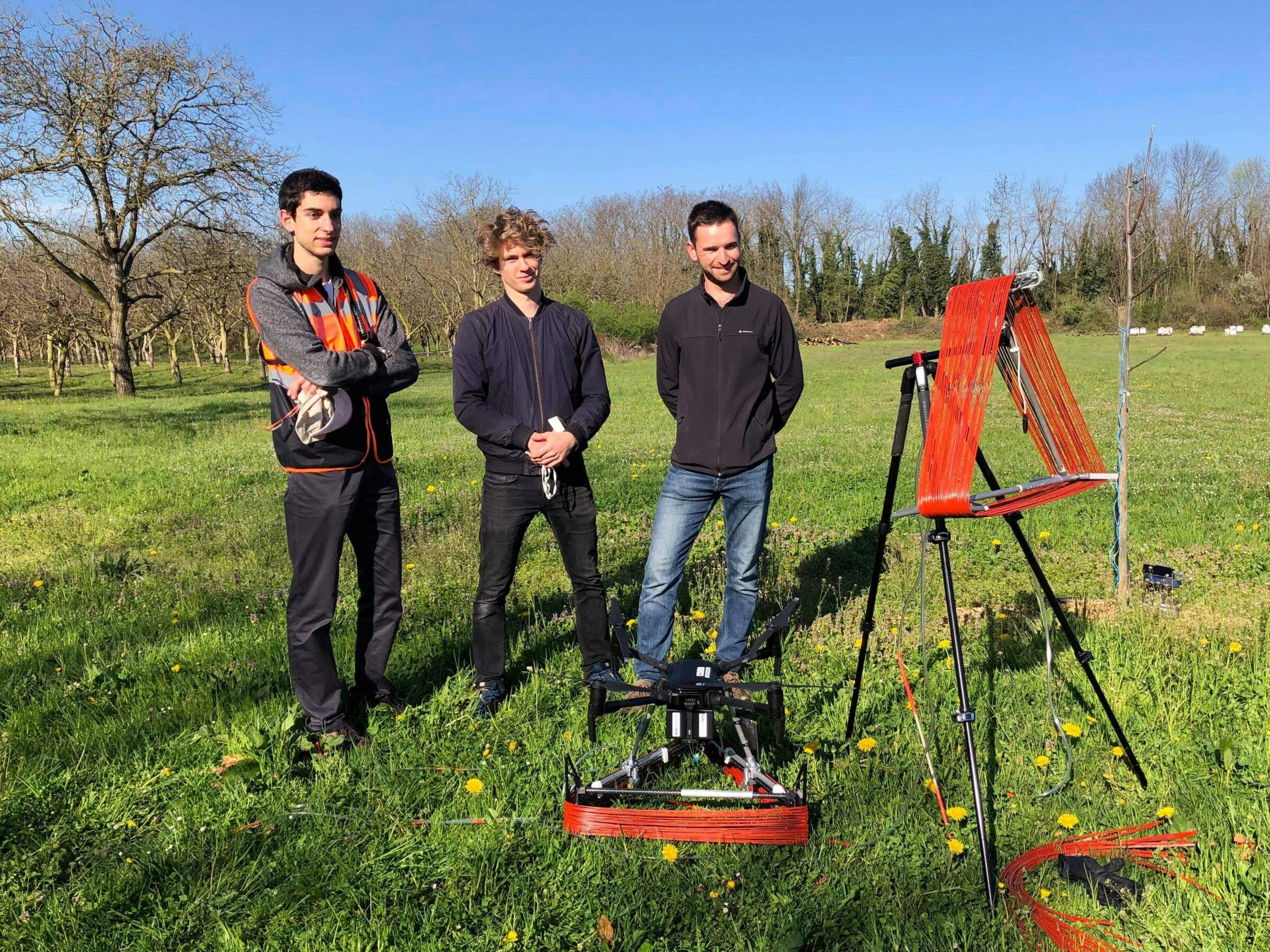 Agri.Builders team with drones