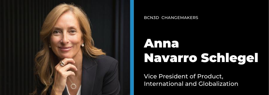 Anna Navarro BCN3D Changemakers