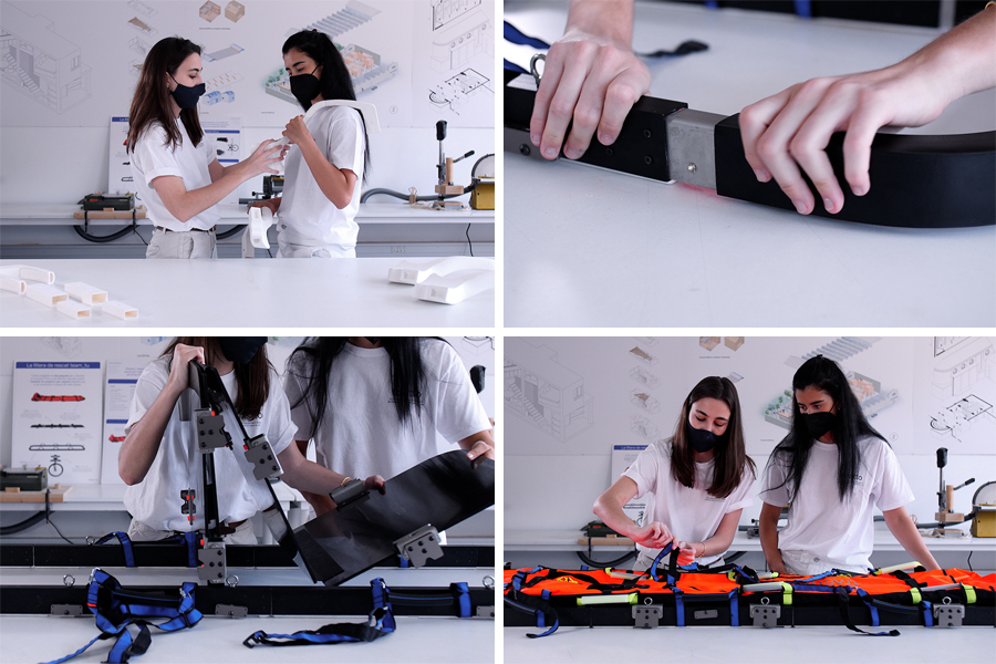 TRUSTTO stretcher assembly
