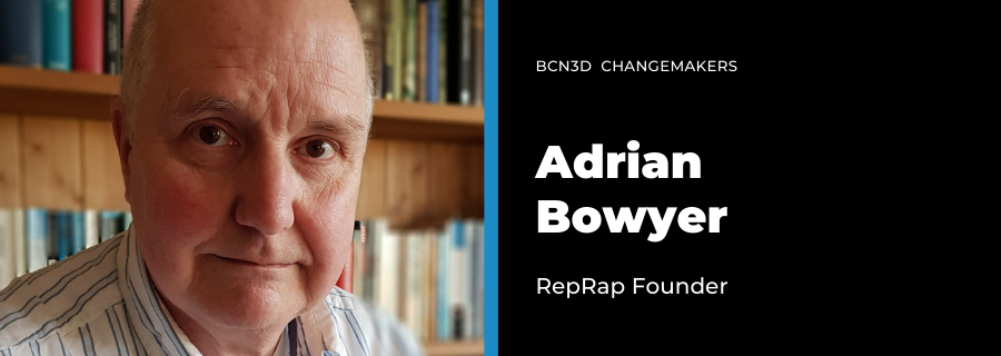 Open-source making with Adrian Bowyer